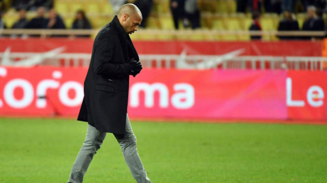 Arsenal Legend Thierry Henry Faces The Sack At Monaco