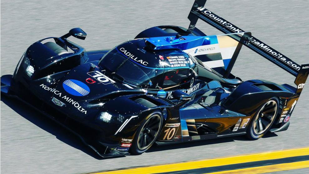 El Cadillac nº 10 con el que corre Alonso en Daytona.