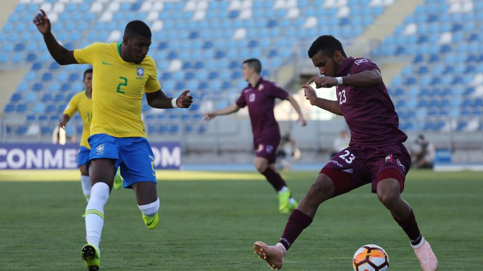 Emerson is representing Brazil at the South American U20 Championship