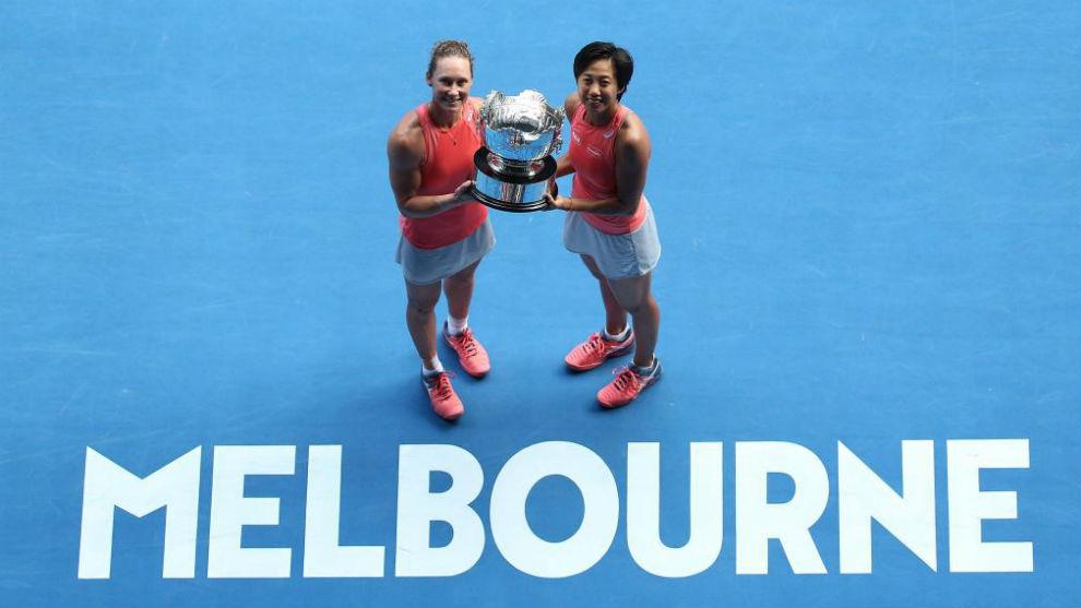 Stosur y Zhang, campeonas del dobles