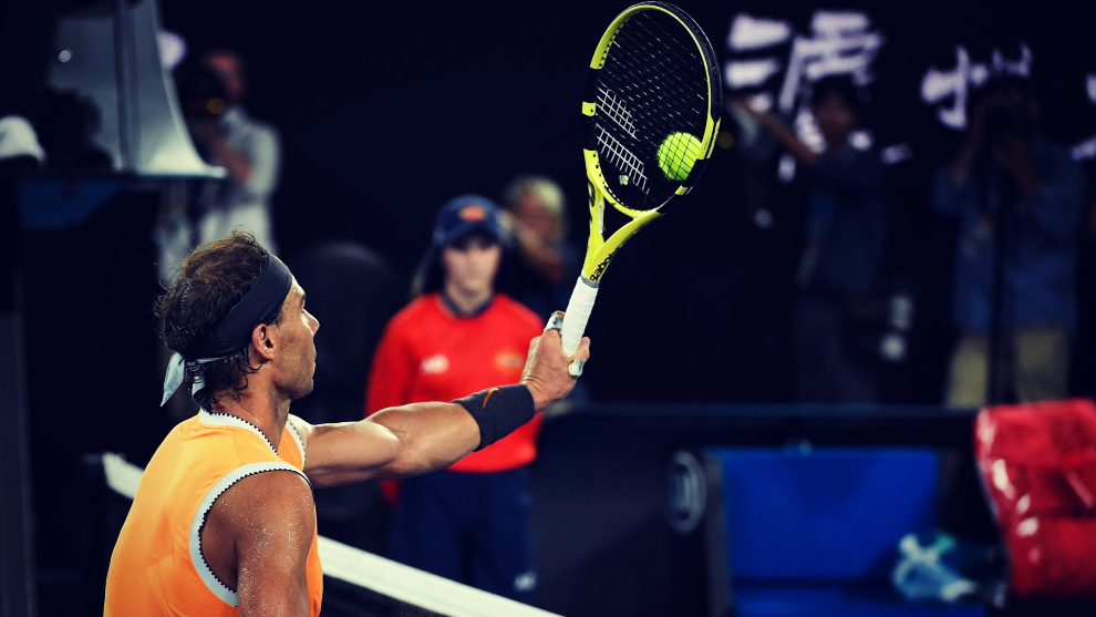 Nadal busca conquistar ante Djokovic su segundo Open de Australia.
