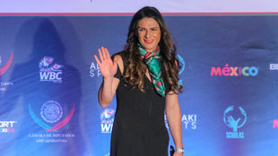 Ana Guevara, durante un evento/