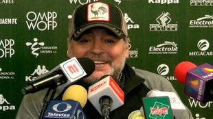 """Diego Maradona: """"Llegó el patrón y ahora se hace lo que yo..."""