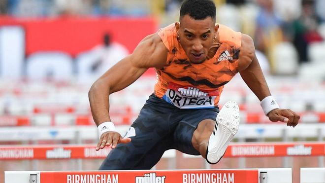Orlando Ortega, en competición.