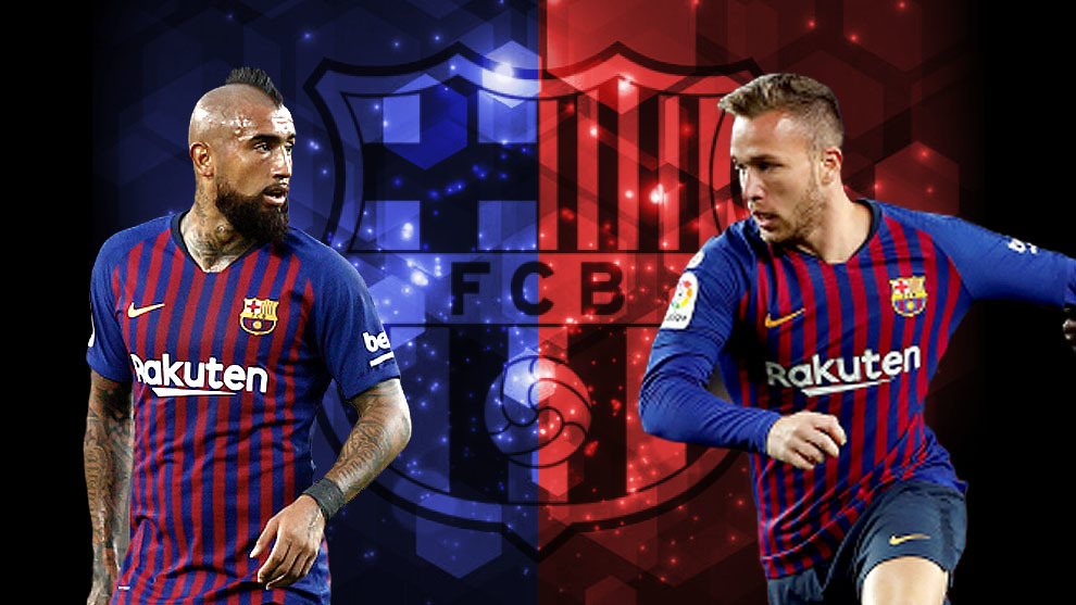 the latest 93799 a1cd5 Barcelona: Barcelona's dilemma: Arturo Vidal or Arthur ...