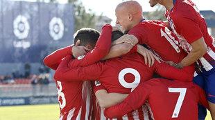 Sexta Victoria Consecutiva Del Atlético B, Que Ya Mira Al Liderato