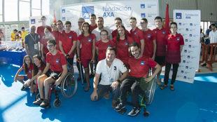 Participantes en el Campeonato de España AXA de promesas...
