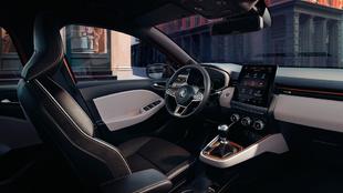 Interior del Renault Clio 2019