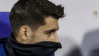 Álvaro Morata, en un partido de la selección