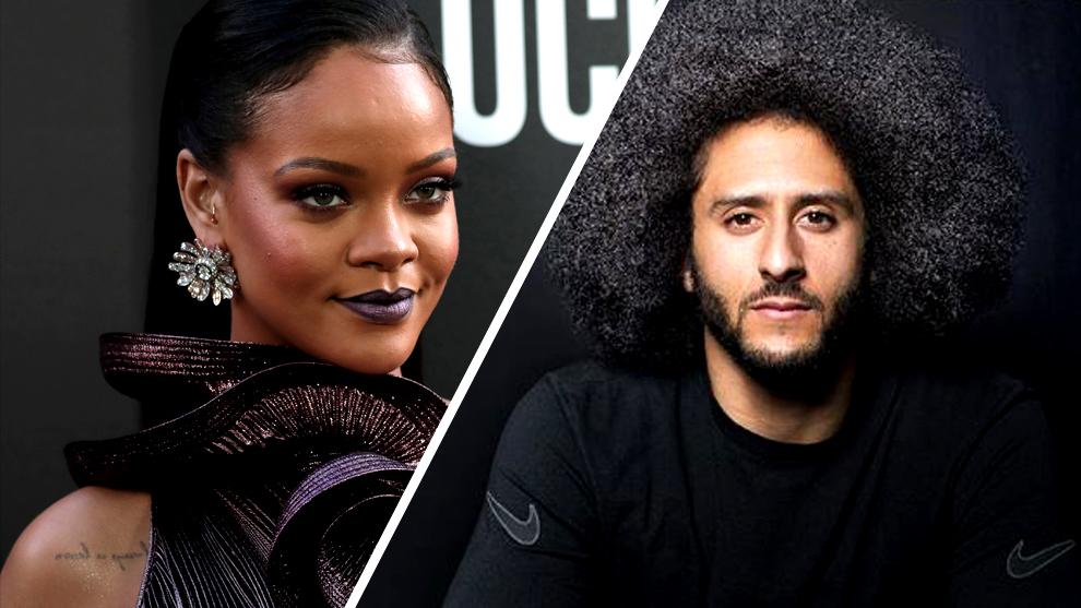 Rihanna apoyó a Colin Kaepernick