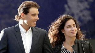 Rafa Nadal y su novia, Xisca Perelló,