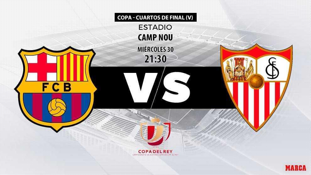 68832ab1a69ce Barcelona - Sevilla - 19 01 2019 - 21 30 - Copa del