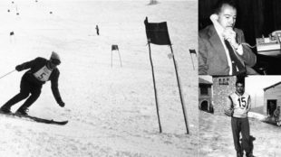 Imágenes de Alfonso de Borbón como deportista y secretario...