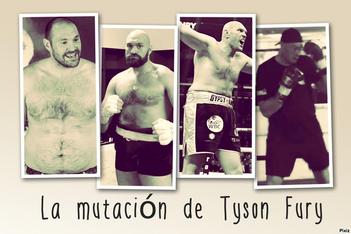 Tyson Fury sigue perdiendo peso y estilizando su figura