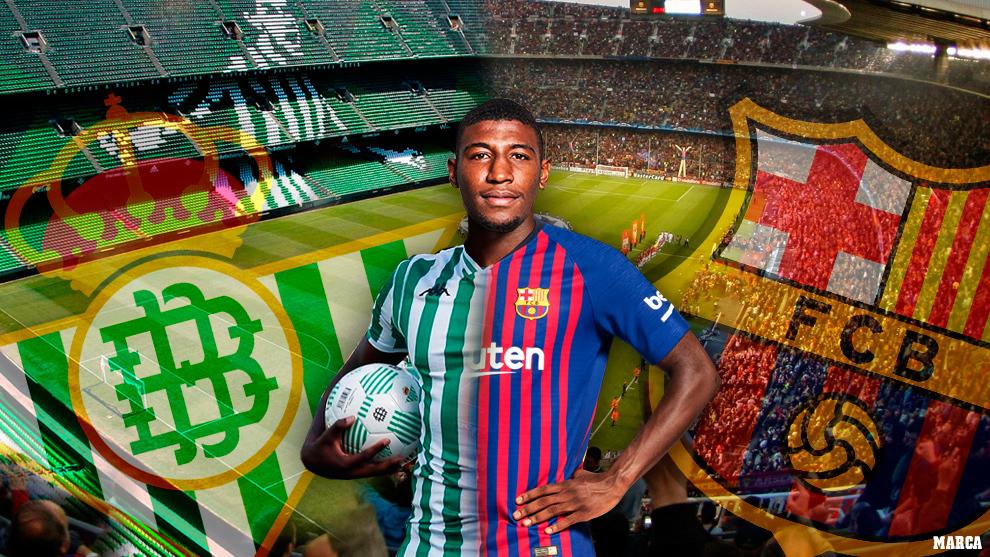 Barca sign Emerson but Betis to take Brazilian on loan
