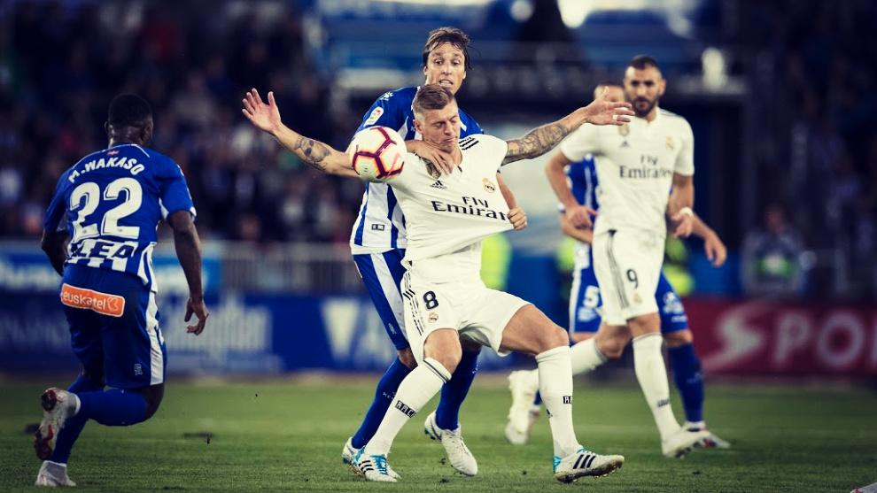El Real Madrid buscará ante el Alavés el cuarto triunfo consecutivo...