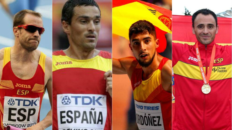 Rodríguez, España, Ordóñez y Sotomayor.