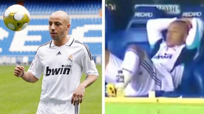 Real Madrid: Diez años del fichaje de Faubert: 28.000 euros el minuto por  dormirse en el banquillo | Marca.com