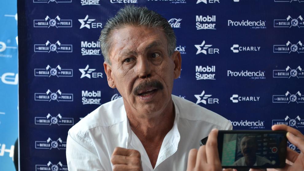 Pablo Larios en conferencia de prensa