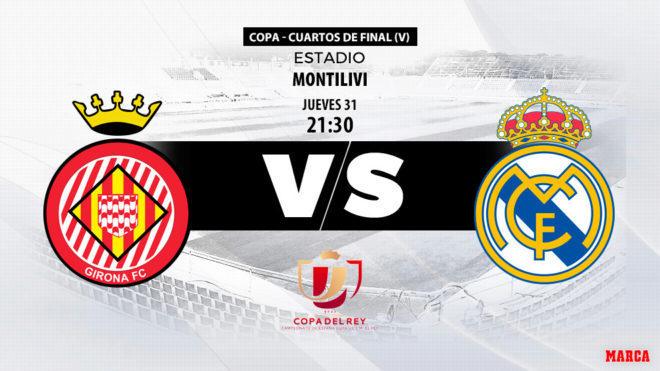 Copa del Rey: Girona vs Real Madrid: horario, canal y dónde ver hoy ...