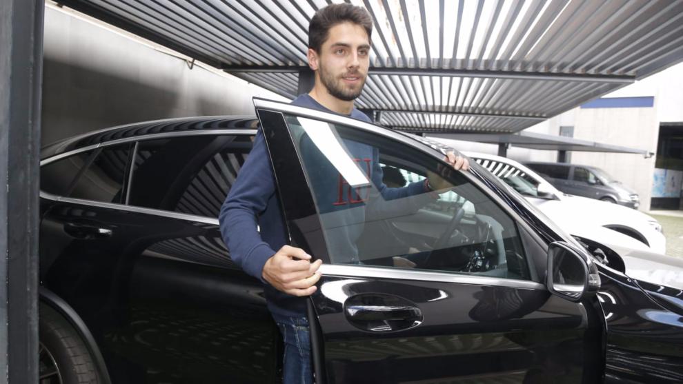 Rubén Sobrino pasa el reconocimiento médico antes de firmar por el Valencia