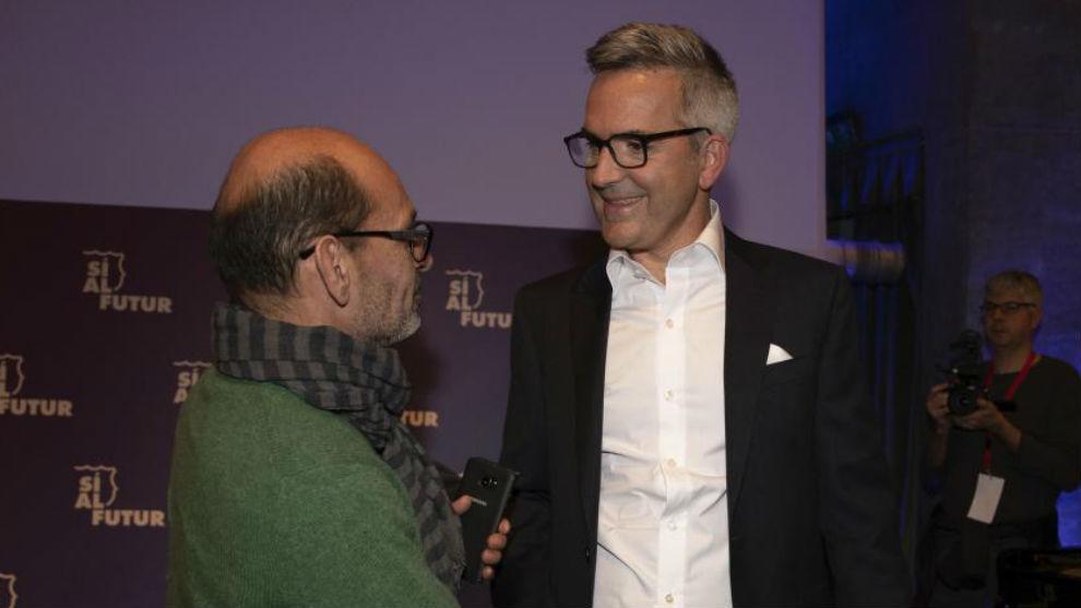 Víctor Font, en la presentación del proyecto.