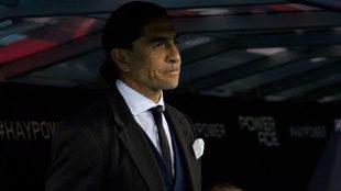 Palencia, técnico de Lobos.