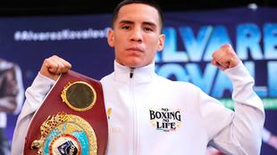 """Óscar Valdez: """"Estoy emocionado de volver al ring""""."""