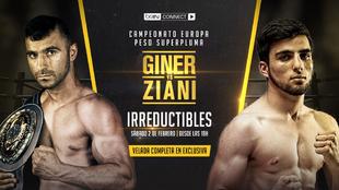 Cartel del 'combatazo' entre Giney y Ziani