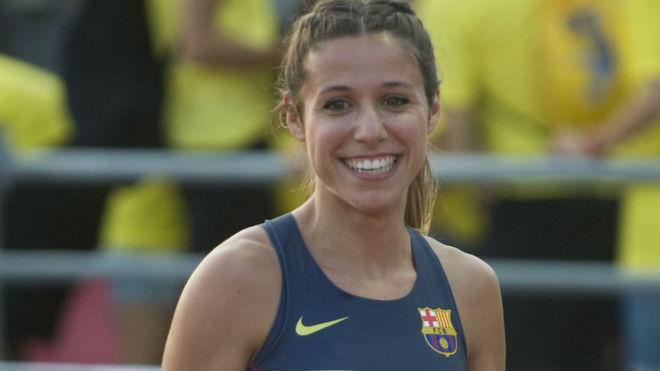 Cristina Lara, tras una carrera