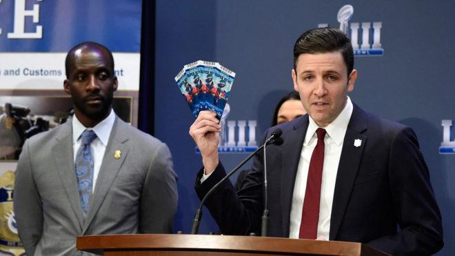 También se han presentado estafas con las entradas al Super Bowl.
