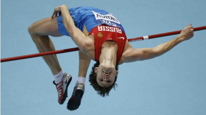 El ruso Ivan Ukhov, en competición
