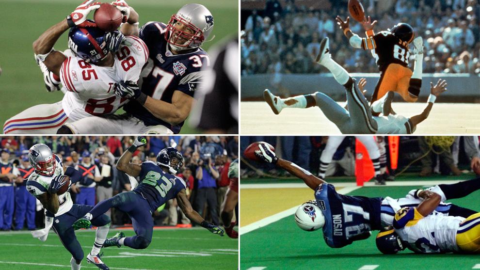 Las mejores jugadas en la historia del Super Bowl. ¿Alguna del Rams...