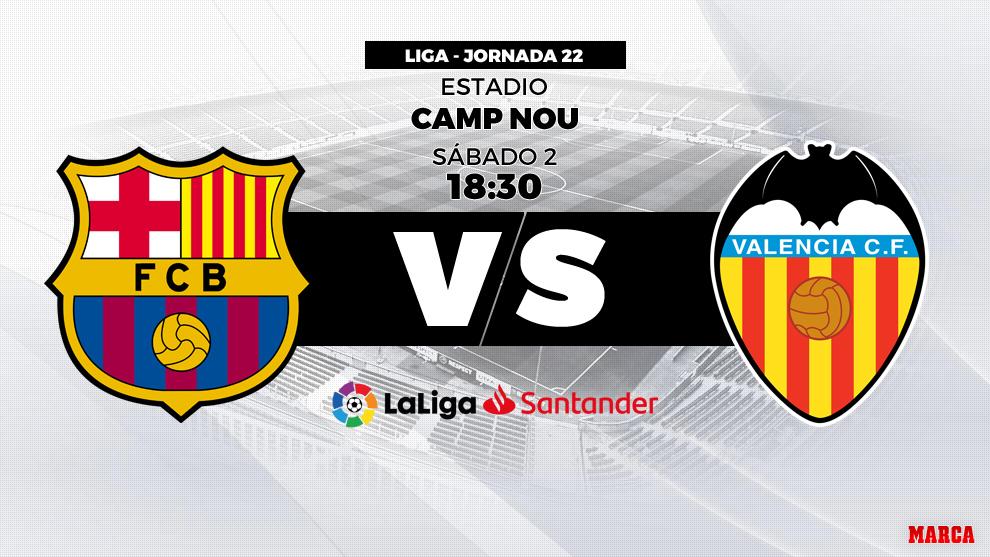Messi rescata al Barça en empate 2-2 ante Valencia