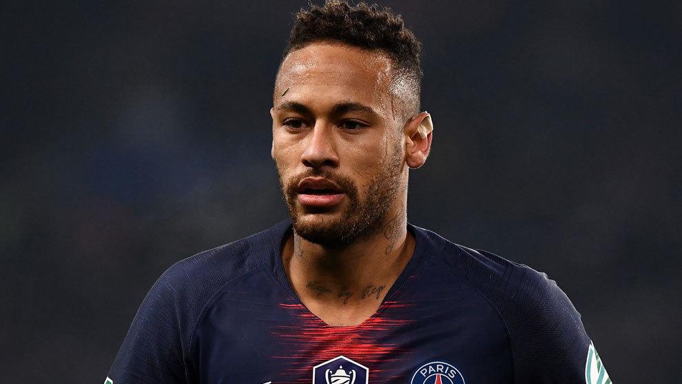 Neymar, en una imagen de esta temporada.