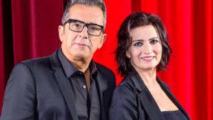 Andreu Beunafuente y Silvia Abril