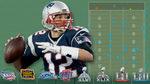 Leyenda Brady: sus 437 pases en Super Bowl, al detalle
