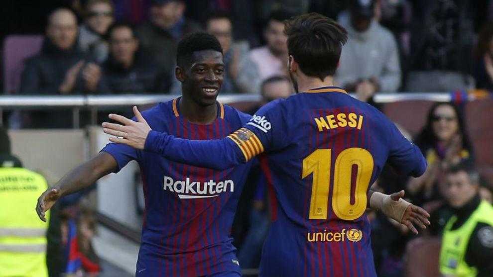 Messi y Dembélé: tensa espera a la vista del Clásico