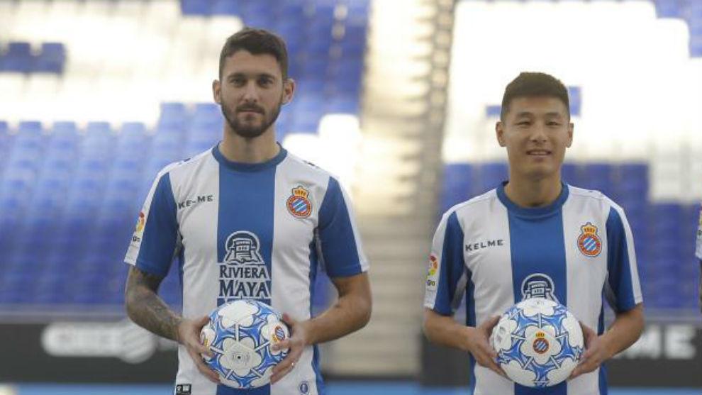 Ferreyra y Wu Lei debutan con el Espanyol