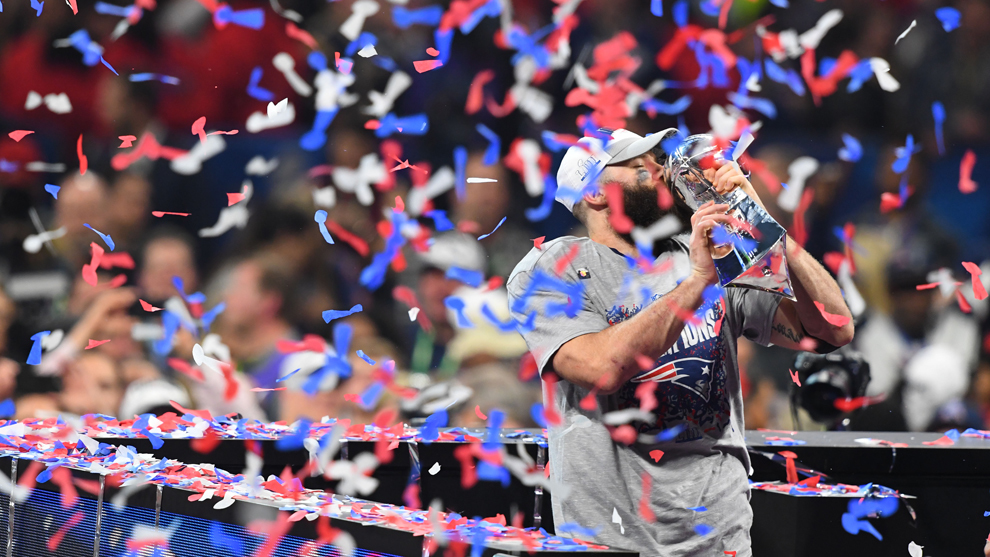 Los Patriots consiguieron su sexto anillo de Super Bowl