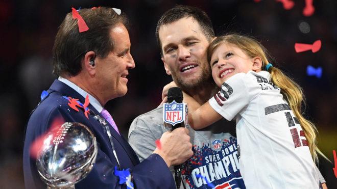 Brady pasó a la historia de la NFL