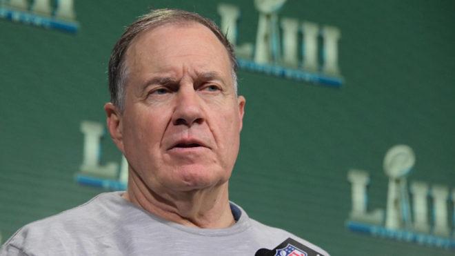 Bill Belichick enalteció la actitud de sus jugadores