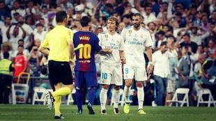 Benzema llega al Clásico copero en el Camp Nou en su mejor momento...