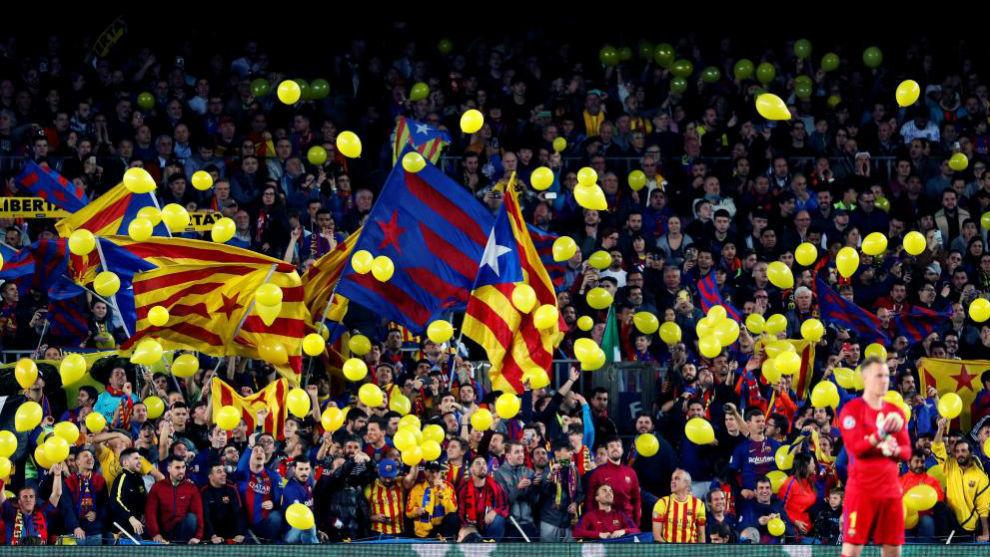 b74c9bb3c42bf FC Barcelona  El CDR Barça pide llenar el Camp Nou de esteladas y ...