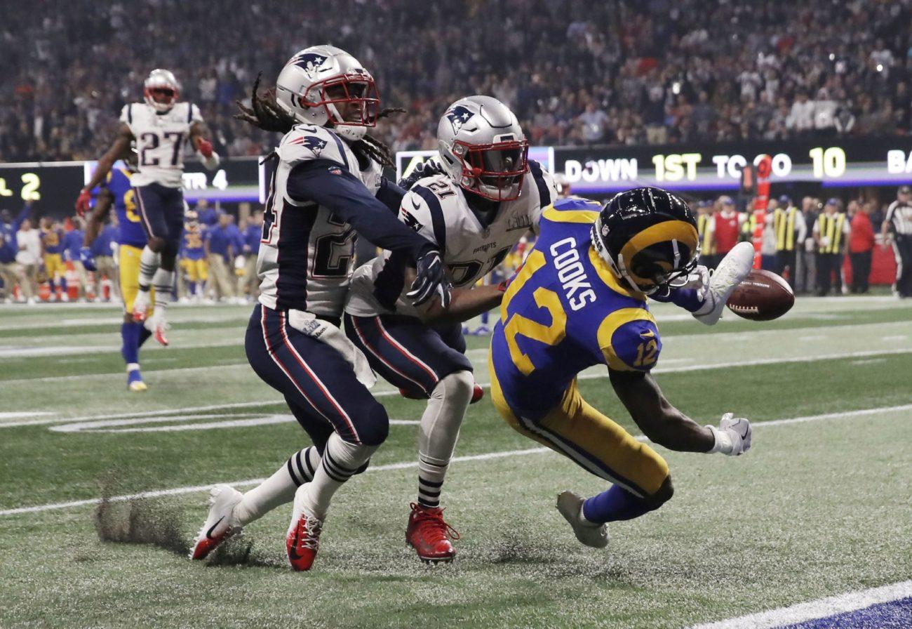 Patriots 13-3 Rams, Super Bowl LIII. Impusieron marca de menos puntos...
