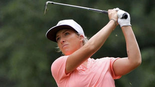 Melissa Reid, en un torneo.