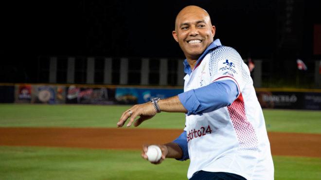 Rivera fue el invitado de honor en este inicio de la Serie del Caribe