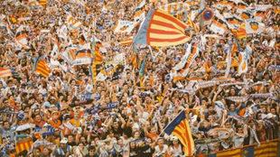 Afición del Valencia CF