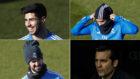 Asensio, Mariano, Isco y Solari