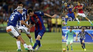 Marcos Llorente en los Barça-Alavés de hace tres temporadas